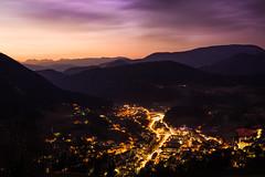 Our little town. (novak.mato91) Tags: cityscape bluehour landscape zagorjeobsavi zagorje slovenia