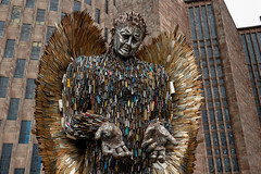 Knife Angel - Coventry (irelaia) Tags: knife angel coventry cathedral statue public art