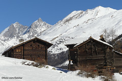 Zermatt, Zum See, Blatten (Sekitar) Tags: suisse schweiz switzerland svizzera svizra europe wallis valais zermatt zum see blatten village traditional alphütten mountain berge weiler schnee snow neige pemandangan landscape landschaft alpen alps alpine