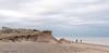 FISHERMEN, CLIFFS & SEA, KILNSEA, E YORKSHIRE_DSC_2720_LR_2.5 (Roger Perriss) Tags: spurnhead d750 beach sand pebbles cliffs fishermen fishing sky grass tuftsofgrass cliff fishingrods catchingfish