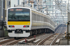 JRE_E231_A524GB_Akihabara_270219 (Catcliffe Demon) Tags: chuosobuline emu japan railways 直流1500v electricmultipleunit tokyo tokyoprefecture japantrip5febmar2019 e231500 akihabara