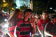 Happy New Year | Saigon Vietnam (Paul Tocatlian | Happy Planet) Tags: newyearseve saigon hochiminhcity vietnam motorbike traffic crowd happynewyear happyplanet asiafavorites motorbikes