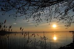 #Catch the Sun.... Before it Goes Down (graceindirain) Tags: lago trasimeno umbria italy sunset graceindirain