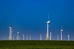 much energy (bhermann.hamburg) Tags: windkraft energie schleswigholstein germany deutschland blau blue gruen green energy lines