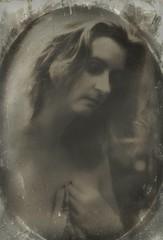 Helens (Bill Eiffert) Tags: portrait reworked helen model pictorial pictorialism faded antique beauty soft sad melancholy emotional