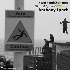 Anthony Lynch #WeekendChallenge Winner Signs & Symbols (iPhotographyCourse) Tags: black white signs symbols danger monochrome boys jumping breaking rules triangle sea water toy life social iphotography photographytutorial photographer photography photoshop photomanipulation iphoto onlinelearing online onlinephotography onlineclass elearning exposure learn learnphotography landscapes learning distancelearning learnfromhome newphotographer newbie camera weeklychallenge weekend composition photographygame photographycompetition photographyblog photographyclass