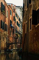 damp and shady! (shanahands2) Tags: venice canal narrow buildings nikon