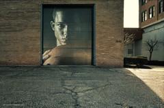 Focused (gregador) Tags: cleveland spectrumsports mural eastside industrial