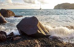 El egeo en Akrotiri (Nebelkuss) Tags: santorini akrotiri playaroja redbeach mar egeo maregeo aegeansea fujixpro1 fujinonxf18f2 olas waves