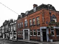 The Angel Inn – Highgate (marc.barrot) Tags: selectivecolours urbanlandscape building pub uk n6 london highgate highgatehighstreet theangelinn
