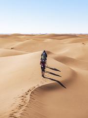 3 + 3 (Markus Jansson) Tags: morocco sahara hiking hike sand sanddunes dunes desert landscape nature shadow