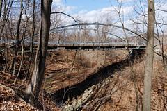 Whipple Bridge (fotofish64) Tags: bridge oldbridge whippletrussbridge whipplebridge ironbridge historic historicbridge eriecanal 1867 1867bridge squirewhipple outdoor ravine normanskillfarm rural americana albanycounty albany capitaldistrict newyork pentax pentaxart kp kmount sigma1750mmf28lens wideangle