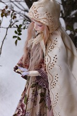 Snow angel (assamcat) Tags: zaoll zaollluv dollmore bjd balljointeddoll abjd canon winter