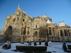 Cathédrale Notre Dame de Saint Omer en hiver (daviddelattre) Tags: cathédrale monument photo hiver neige batiment architecture
