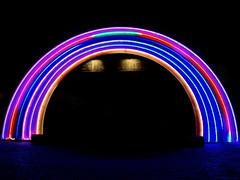 Rainbow of lights (mrsparr) Tags: toronto lightfest theflickrlounge weeklytheme