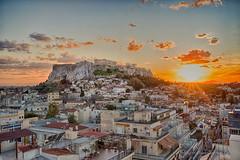 Athens  Acropolis-4 (Rudaki1959) Tags: hdr walking watch wideangle explore urban outdoors orange sonya7iii a7m3 a7iii season skies sunset seascape sky sony griekenland greek greece historical history