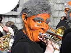DSCN3281 (keepps) Tags: switzerland suisse schweiz fribourg bulle carnaval parade mask guggenmüsik