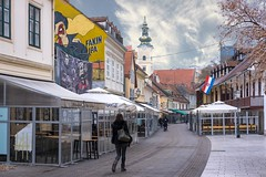 (Yvan Rouxel) Tags: cityofzagreb croatia january tkalcicevastreet wpcroatia winter zagreb hrv