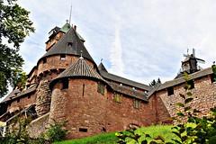 1/2 Château du Ht-Koenigsbourg  Alsace (Nathery Reflets) Tags: moyenage basrhin alsace grand est france orschwiller château