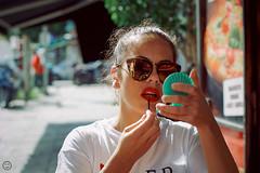 Trucco (Pakinho10) Tags: sicilia sicily italia italy palermo mujer modelo model woman makeup maquillaje lipstick labios lips pintalabios