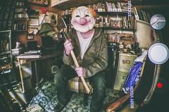 I Declare (Paul B0udreau) Tags: wah werehere cellphone axe clown selfie nikkor70300mm photoshop canada ontario paulboudreauphotography niagara d5100 nikon nikond5100 raw layer anker wideangle