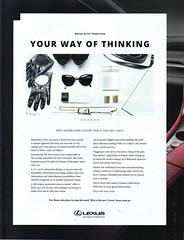 2009 Lexus RX SUV Page 1 Aussie Original Magazine Advertisement (Darren Marlow) Tags: 2 9 20 2009 l lexus r x rx s u v suv car c cool collectible collectors classic a automobile vehicle j jap japan japanese asian asia 00s