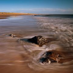 3 Rocks (PeskyMesky) Tags: aberdeeb aberdeenshire scotland longexposure landscape water sea ocean rocks beach canon canon5d eos