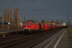 232 528 DB (uhrpfälzer) Tags: eisenbahn zug güterzug steinsalz br232 232 ludmilla köthen regenwetter bahnhof sachsenanhalt