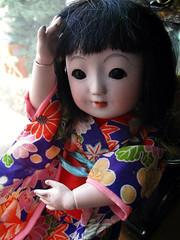Sakura doll (☆Cydril☆) Tags: doll antique ichimatsu sakura ningyo japanese