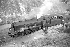 11/03/1964 - Winchester (City), Hampshire (53A Models) Tags: britishrailways southernrailway bulleid battleofbritain bb 462 34077 603squadron steam passenger winchester hampshire train railway locomotive railroad