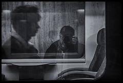 2019-01-27-Bruxelles-151px (Pontalain) Tags: black blackandwhite labels monochrome monochromephotography photography stockphotography style white moi profil reflet train x bruxelles régiondebruxellescapitale belgique be