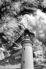 Cloud cover. (Ian Ramsay Photographics) Tags: kiama newsouthwales australia lighthouse cloudcover nature protective tourism weather