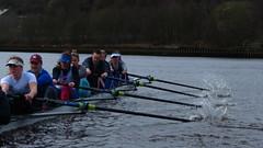 IMG_0566 (NUBCBlueStar) Tags: rowing remo rudern river aviron february march star university sunrise boat blue nubc sculling newcastle london canottaggio tyne hudson thames sweep eight pair