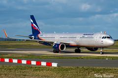 [CDG] Aeroflot Airbus A321-211 _ VP-BAZ (thibou1) Tags: thierrybourgain cdg lfpg spotting aircraft airplane nikon d810 tamron sigma aeroflot airbus airbusa321 a321 a321200 a321211 taxiing vpbaz russianairlines ylevitan