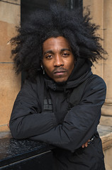 Dyron (Charles Hamilton Photography) Tags: glasgow streetportrait people glasgowstreetphotography characterstudy portrait colourstreetportrait buchananstreet citycentre style stranger hairstyle eyecontact naturallight primelens nikond750 glasgowstreetportrait charleshamilton