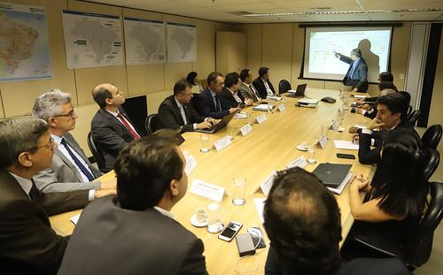 Reunião do Ministério da Infraestrutura - Brasília