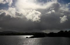 The Approaching Menace (RoystonVasey) Tags: canon eos m 1855mm stm zoom eire republic ireland mayo galway loch coirib lough corrib sun rain
