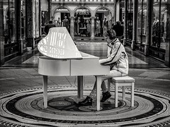 """Just tickling the Ivories in the Arcade <a style=""""margin-left:10px; font-size:0.8em;"""" href=""""http://www.flickr.com/photos/13455984@N02/47531326782/"""" target=""""_blank"""">@flickr</a>"""