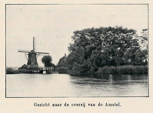Eigenhaard 1913,   Amsterdam Amstel molen