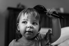 Messy toddler (Andy barclay) Tags: nikon d7100 35mm 35mm18g pet dog portrait baby child toddler cute happy smile fun
