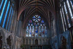 DSC_4466_67_68_69_70_tonemapped (IMX2019) Tags: art light cathedral old interior masonry god religion pulpit nave organ photo picture decoration shadows nikon d500 d700 35mm 1755mm zeiss nikkor exeter candle