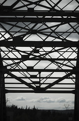 When The Sun Won't Sleep: Alaska (Marshall Harkness) Tags: alaska 70d canon telephoto cloud cloudscape bridge