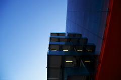 Balcons (Atreides59) Tags: lyon france rhone rhône urban urbain architecture bleu ciel sky rouge red pentax k30 k 30 pentaxart atreides atreides59 cedriclafrance