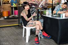 Tattoo Fest (D. R. Hill Photography) Tags: tattoo tattoofest mbktattoofest mbktattoofest2018 festival ink bodyart bangkok thailand asia southeastasia woman portrait nikon nikond750 nikon50mmf14g 50mm nikon50mm primelens fixedfocallength