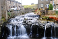 Gayle Beck (zawtowers) Tags: hawes north yorkshire upper wensleydale dales england countryside rural market town famous cheese saturday 16th february 2019 dry sunny bright gayle beck water falling long exposure scenic idyllic