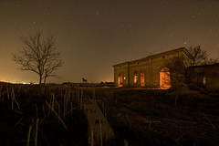 """Spain in ruins (""""meltedcheese"""") Tags: ruins ruinas urbex noche night nocturna stars creepy loneliness soledad españa nightscape historic moody"""