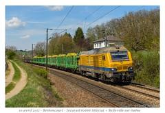 BB 75101 TSO - Héricourt (CC72080) Tags: tso prima akiem locomotive lokomotive train zug güterzug bb75000 sécurail héricourt