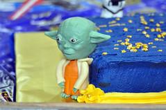 Cub Scouts Blue & Gold Ceremony Star Wars Cake 10 (rikkitikitavi) Tags: custom cake dessert vanilla chocolate buttercream fondant handsculpted handmade starwars r2d2 yoda stormtrooper chewbaca bb8 cubscout blueandgoldceremony bluegoldbanquet