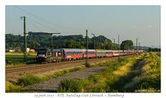 ES64 U2 036 BTE Autozug (CC72080) Tags: es64u2 eurospinter mrce bte autozug personenzug nachtzug lörrach train zug locomotive lokomotive bahntouristikexpress