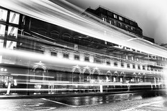 White on Black (VisualTheatrics) Tags: street streetphotography streetview landscape landmarks lines light longexposure leadinglines look lowlight line lowkey lowlightphotography lowlighting life longexposures streak lighttrail lighting lights lightpainting lightrail canon canon750d citylife city beautiful beauty blackandwhite building buildings bnw build blacknwhite monochrome mono mood moody